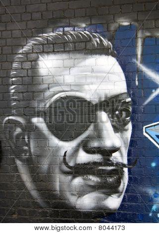 Graffiti On A Wall
