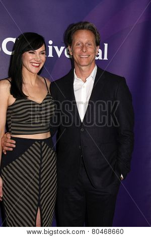 LOS ANGELES - JAN 15:  Steven Weber at the NBCUniversal Cable TCA Winter 2015 at a The Langham Huntington Hotel on January 15, 2015 in Pasadena, CA