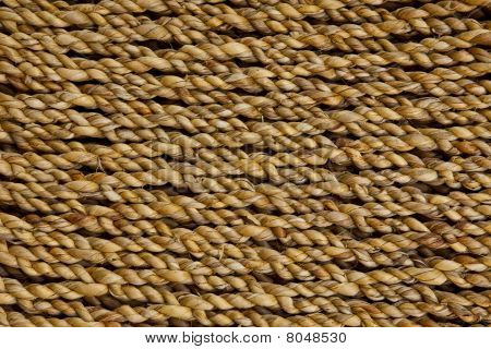 Texture of a rope
