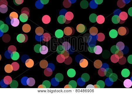 Close up Multi color bokeh background Clipart. poster