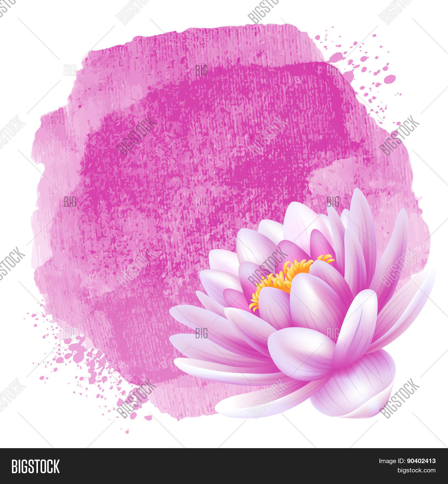 Vector Beautiful Pink Vector Photo Free Trial Bigstock