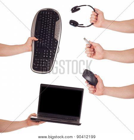 Hand Computer Technology Set