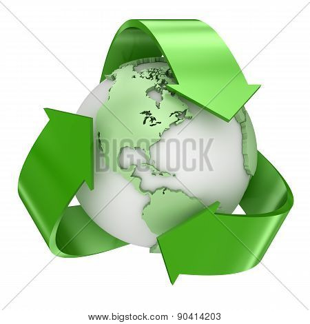 Recycle Earth Symbol