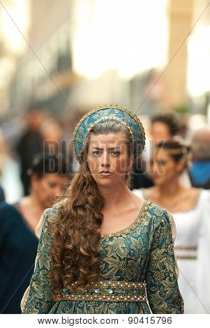 Lady Of Middle Ages