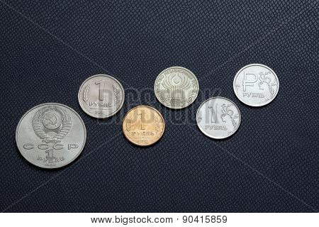 Ruble Coin History 1988-2015