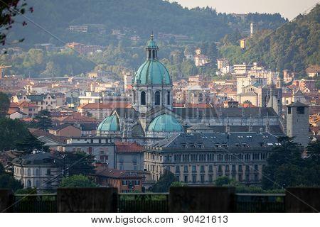 Como Cathedral On Lake Como
