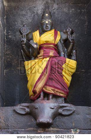 Statue Of Mariamman Goddess.