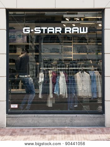G-star Raw In Amsterdam