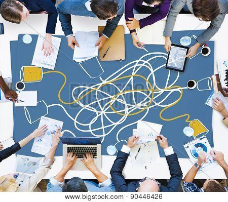 Communicate Communication Telecommunication Connection Calling Concept