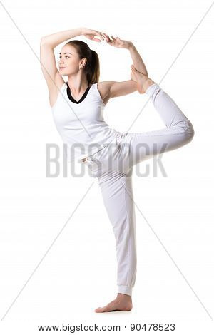 Lord Of The Dance Yoga Pose