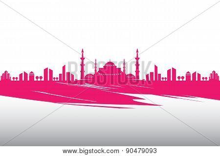 Vector Mosque