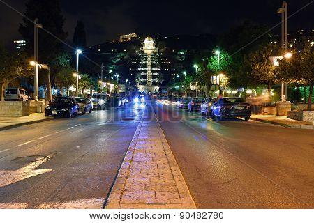 Haifa, Night View