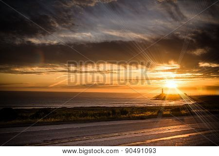 The Lighthouse Scenery