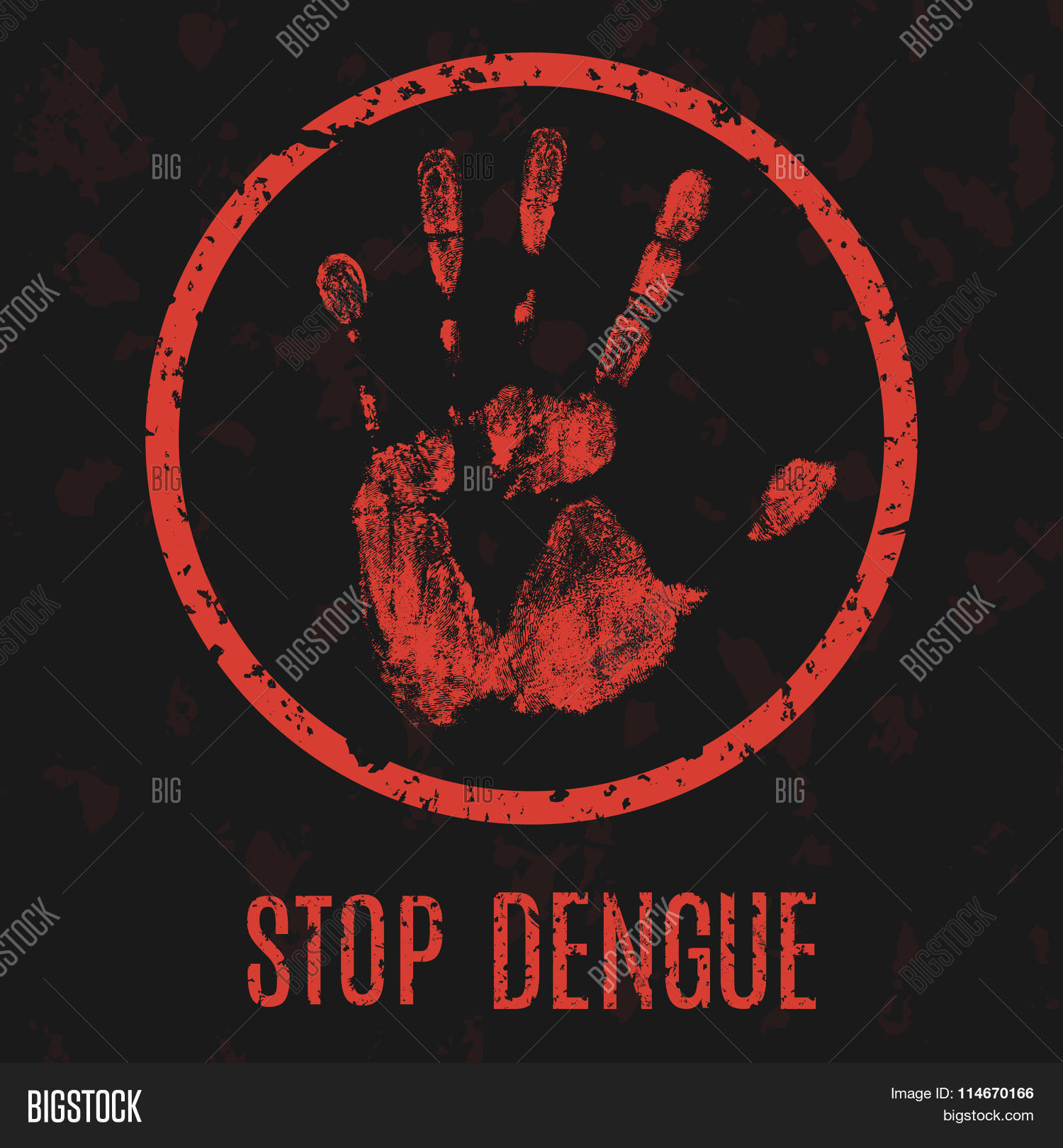 Dengue Fever Infects La Fte De >> Stop Dengue Fever Vector Photo Free Trial Bigstock