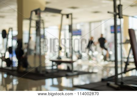 Picture of a gym hall.