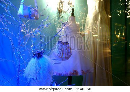 Handbags In A Window