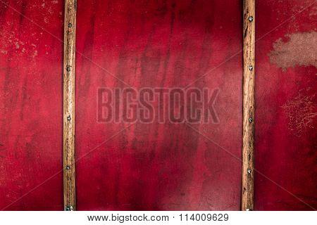 Nostalgic Suitcase Closeup Background