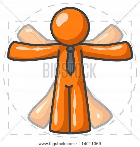 Orange Man Davinci