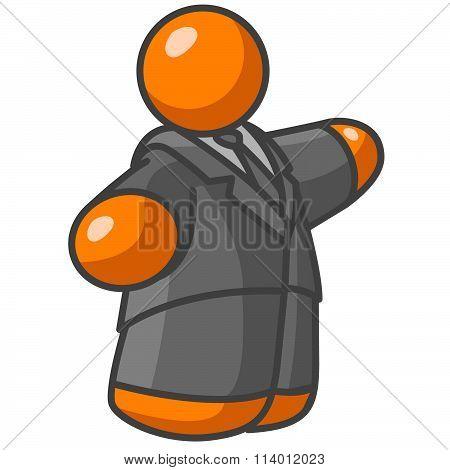Orange Man At Large