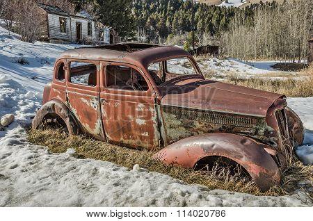 Four Door Antique Vehicle