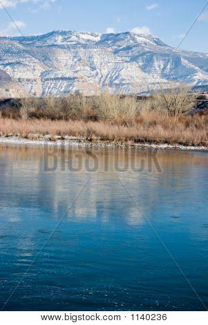 River And Mesa