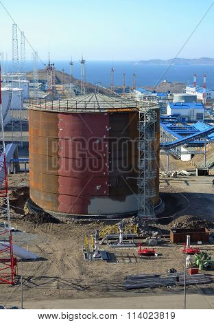 New Oil Storage Tanks
