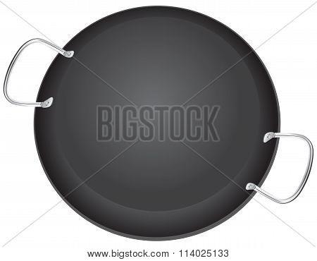 Traditional Pan For Paella