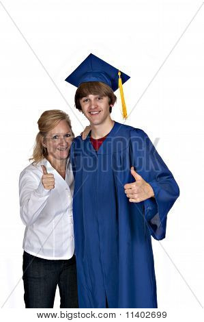 Mom With Graduate