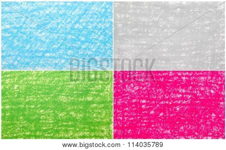 Background Crayon Drawing Texture