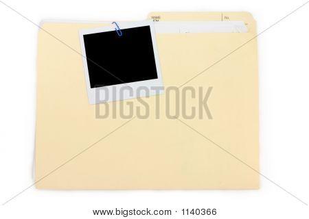 A Photo And File Folder