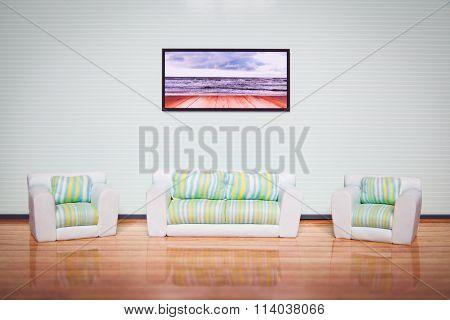 Living room interior.