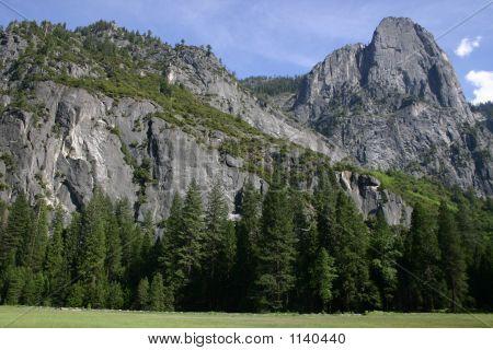 View From Tuolumne - Yosemite Np
