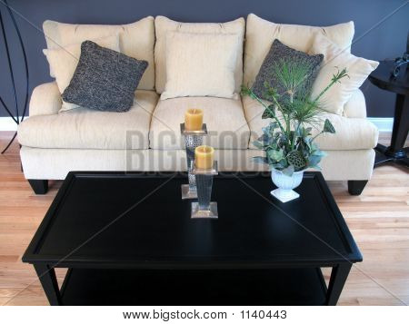 Modern Living Room - Sofa