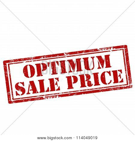 Optimum Sale Price