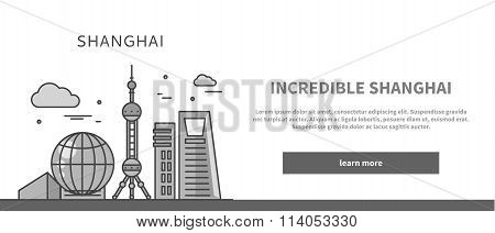 Web Page Chinese City of Incredible Shanghai
