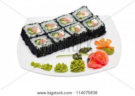 tobico sushi rolls