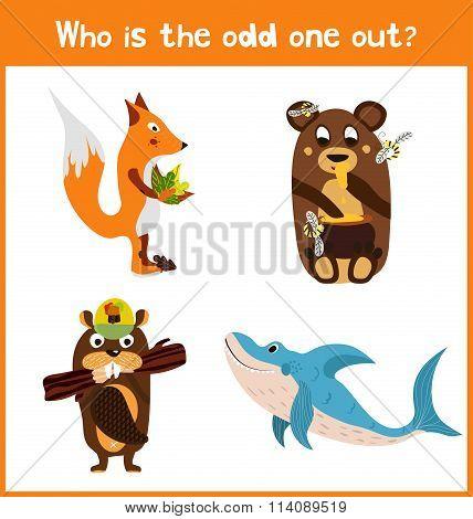 Children Colorful Educational Cartoon Game