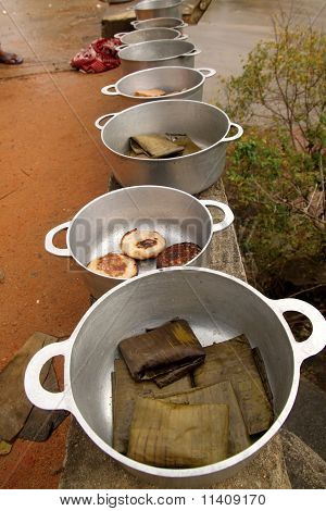 Simple african meal