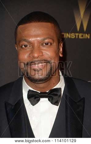 LOS ANGELES - JAN 10:  Chris Tucker at the Weinstein Company & Netflix 2016 Golden Globe After Party at the Beverly Hilton on January 10, 2016 in Beverly Hills, CA