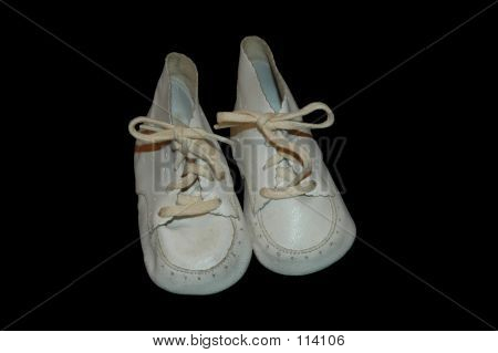 Old Pair Of Baby Shoes