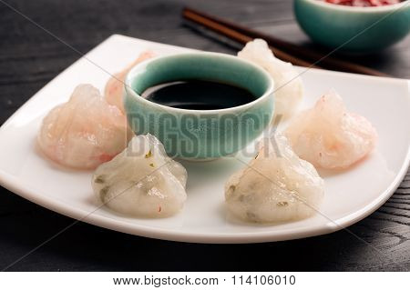 Traditional Chinese Steamed Dim Sum