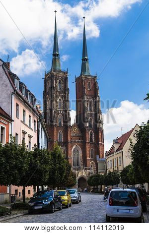 Cathedral of St. John Baptist. Wroclaw. Poland