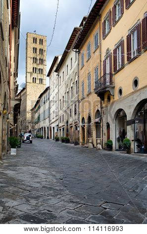 Corso Italia Arezzo Tuscany