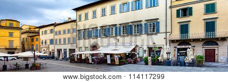 St. Francis Square Arezzo Italy