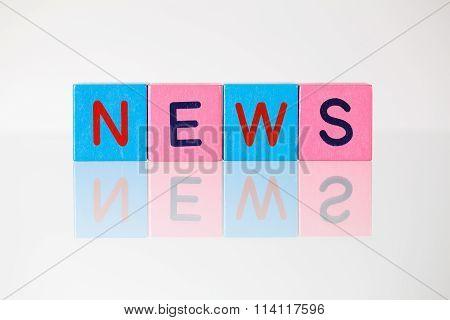 News - An Inscription From Children's Blocks