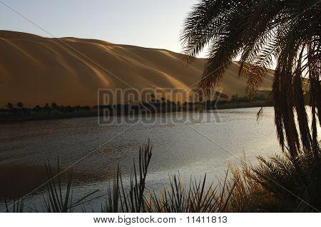 Lake Gabron Libya