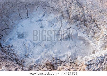 Boiling Mud Of Fumaroles