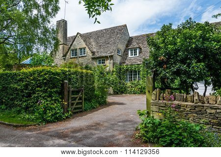 Old House In Witney, England