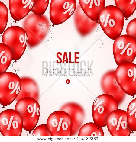 Sale poster. Vector illustration.