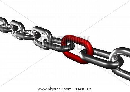 Chain Team Bonding Success Symbol